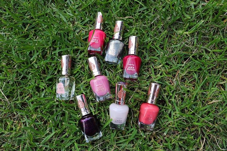 Sally Hansen Color Therapy, los esmaltes que nutren e hidratan las uñas