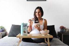 ¿Por qué empecé a tomar sustitutos de leche durante mi embarazo?